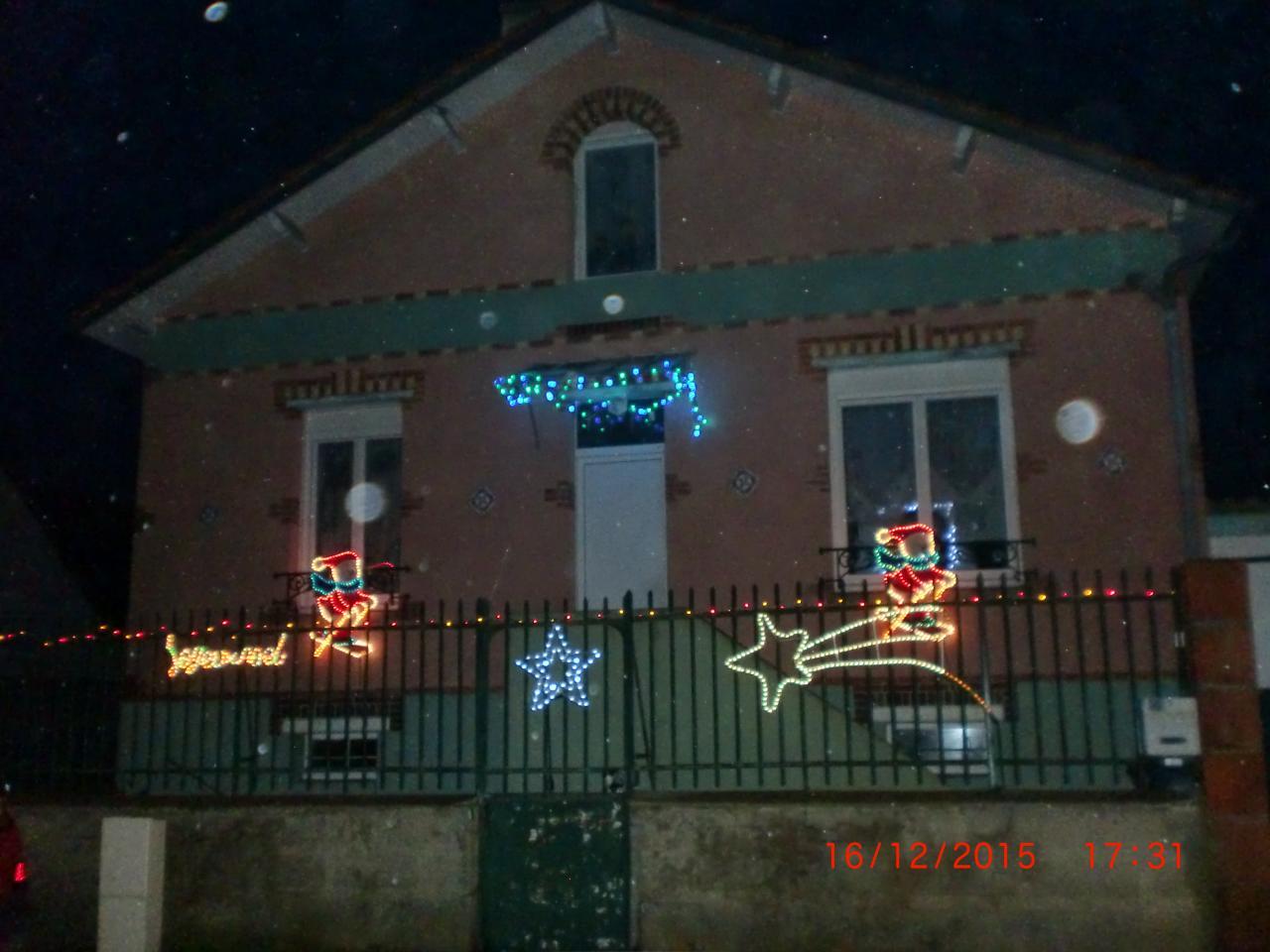 Illumination de  Noël 2015
